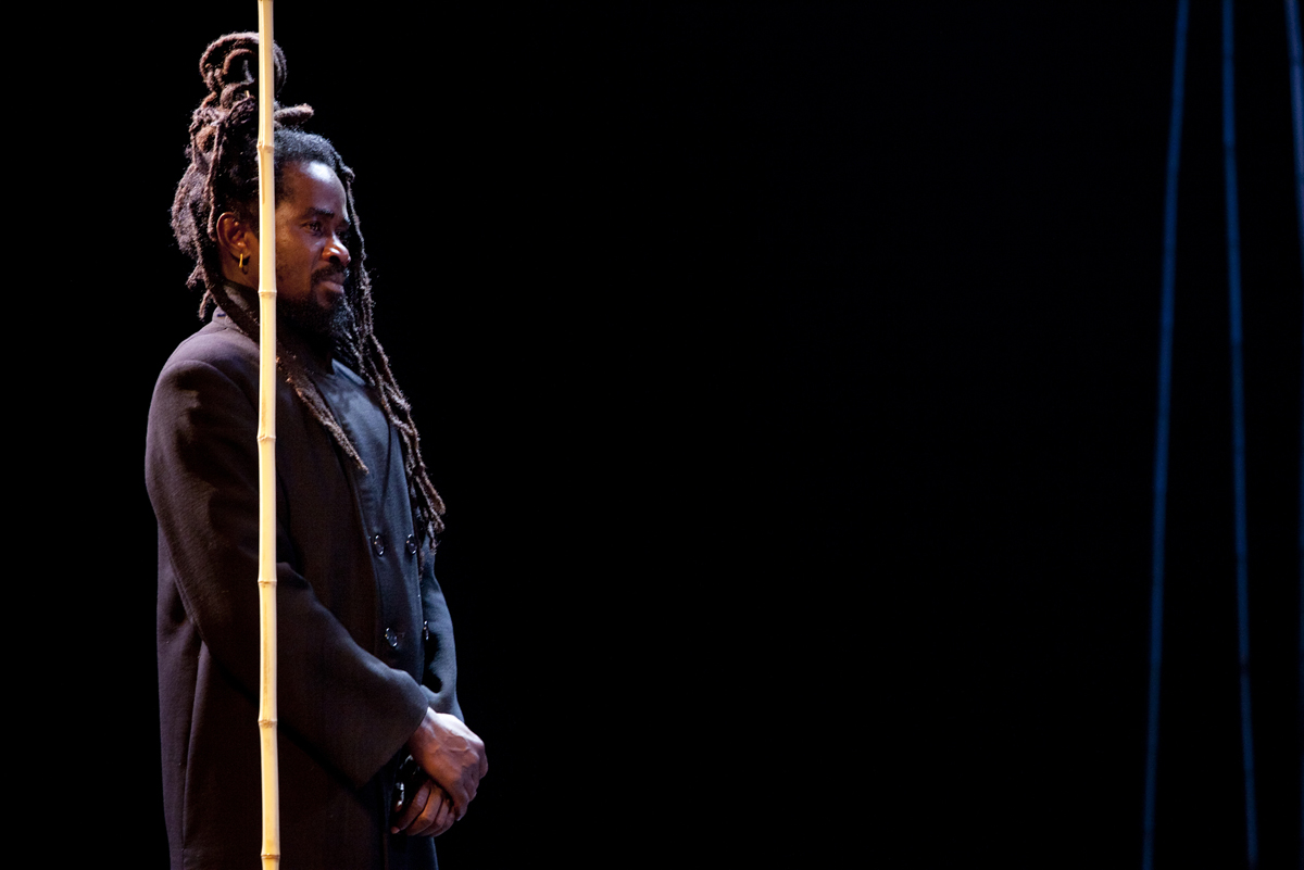 Magic Flute. Abdou Ouologuem. Photo By Alicia Peres
